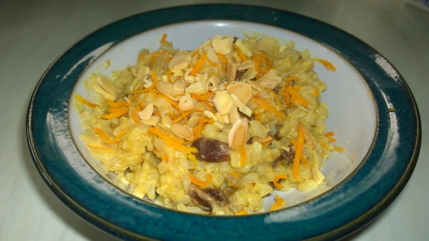 Brown rice orange1
