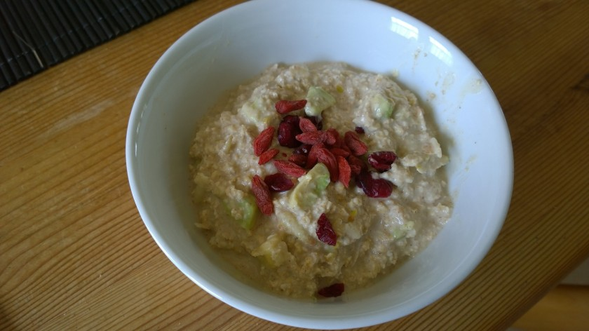 Avocado bircher