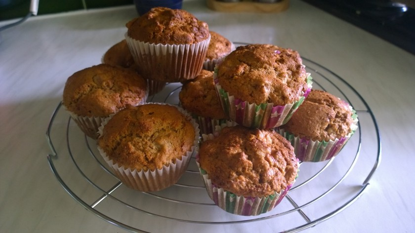 rhurbarb muffins