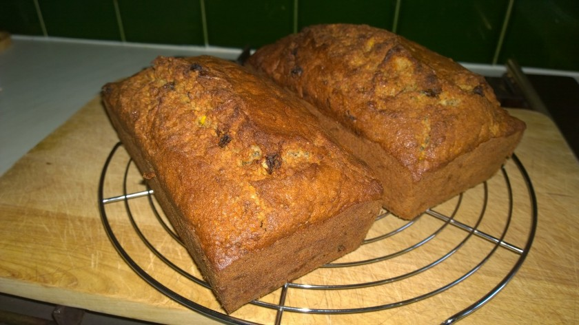 courgette bread 1