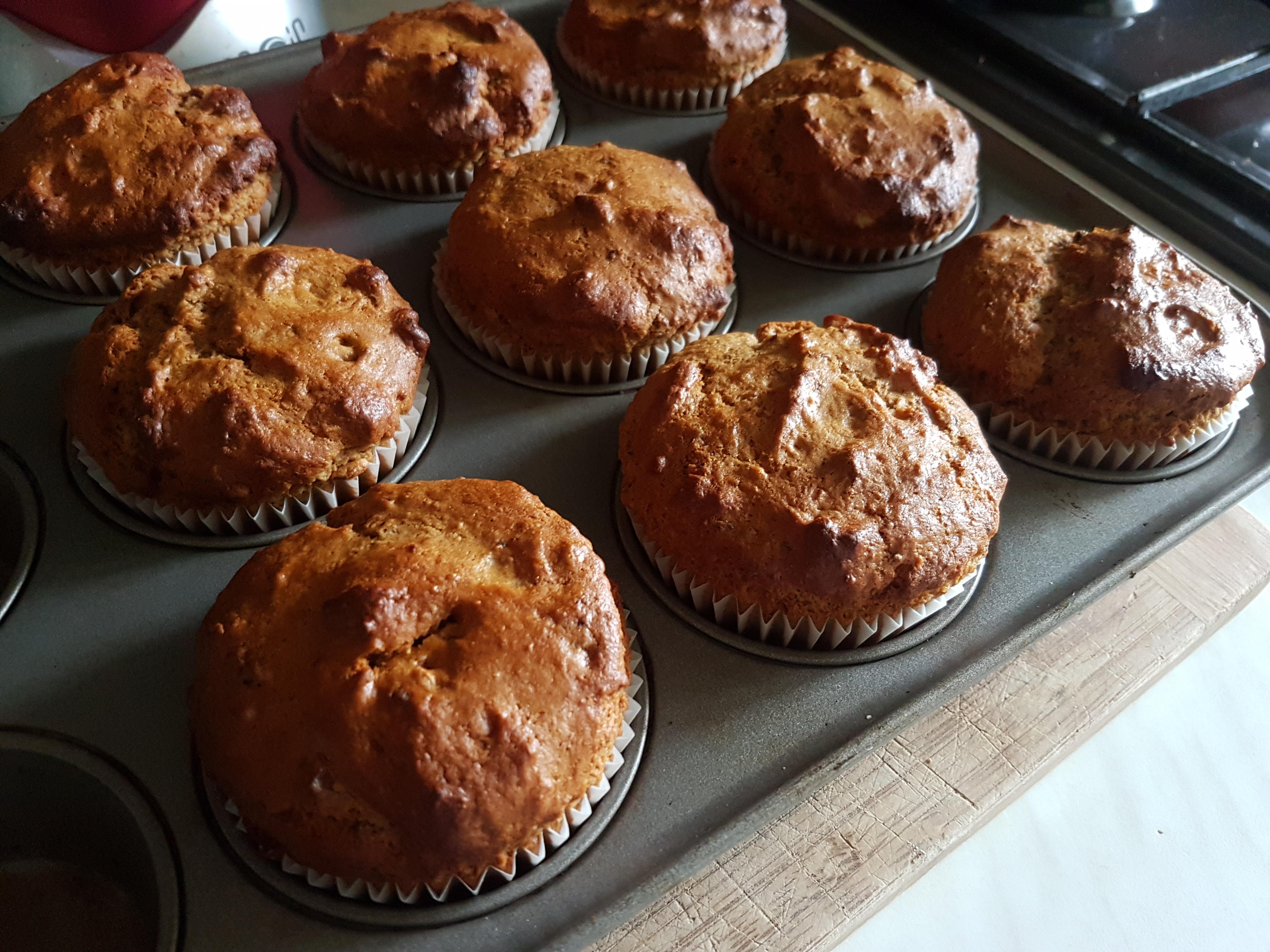 prune and nut muffins 2